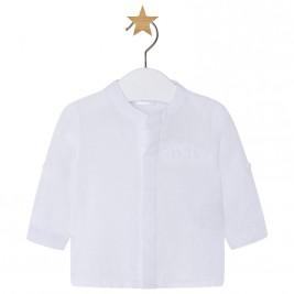 Βρεφικό Πουκάμισο Mayoral 1114-082 Λευκό Αγόρι