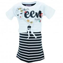 Παιδικό Φόρεμα Εβίτα 186142 Λευκό Κορίτσι