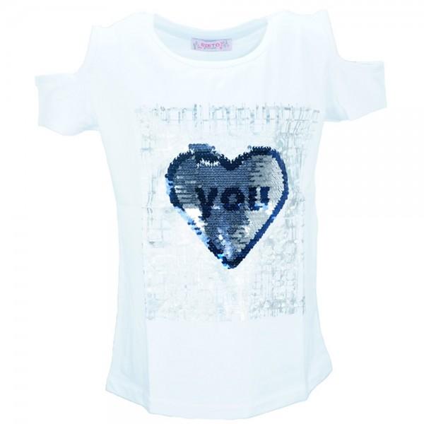 4627df3ebd22 Παιδική Μπλούζα Εβίτα 186134 Λευκό Κορίτσι