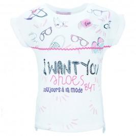 Παιδική Μπλούζα Εβίτα 186119 Εκρού Κορίτσι