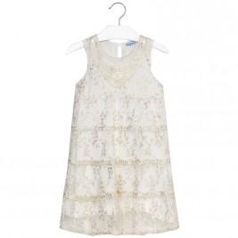 Παιδικό Φόρεμα Mayoral 6922-018 Εκρού Κορίτσι