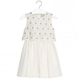 Παιδικό Φόρεμα Mayoral 6924-018 Εκρού Κορίτσι