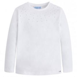 Παιδική Μπλούζα Mayoral 175-055 Λευκό Κορίτσι