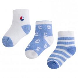 Βρεφικές Κάλτσες Σετ Mayoral 9723-059 Θαλασσί Αγόρι