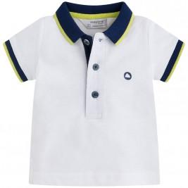 Βρεφική Μπλούζα Mayoral 190-087 Λευκό Αγόρι