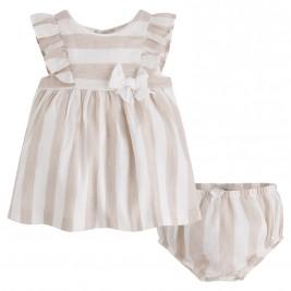 33bd718a491 Βρεφικό Φόρεμα Mayoral 1818-023 Εκρού Κορίτσι ...