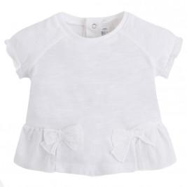 Βρεφική Μπλούζα Mayoral 1008-070 Λευκό Κορίτσι