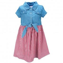Παιδικό Φόρεμα Εβίτα 186217 Denim Κορίτσι