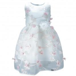 Παιδικό Φόρεμα Εβίτα 186237 Εκρού Κορίτσι