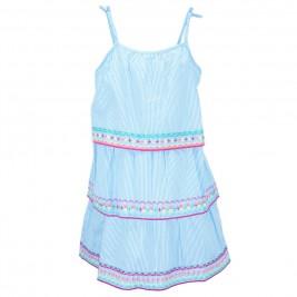 Παιδικό Φόρεμα Εβίτα 186266 Ριγέ Κορίτσι