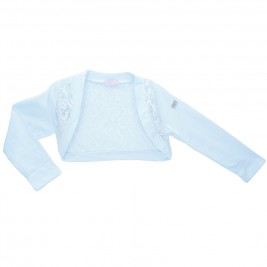 Παιδικό Μπολερό Εβίτα 186206 Λευκό Κορίτσι