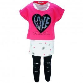 Παιδικό Σετ-Σύνολο Εβίτα 186082 Φούξια Κορίτσι
