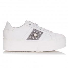 Γυναικεία Sneakers Sante Grumman 99071-24 Λευκό Γκρι