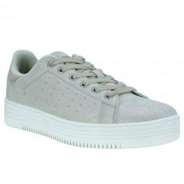 Γυναικείο Sneaker Bass3D 41488 Πλατίνα