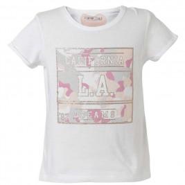 Παιδική Μπλουζα Energiers 16-218260-5 Λευκό Κορίτσι