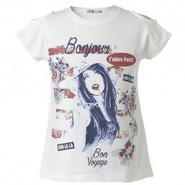 Παιδική Μπλουζα Energiers 16-218240-5 Λευκό Κορίτσι