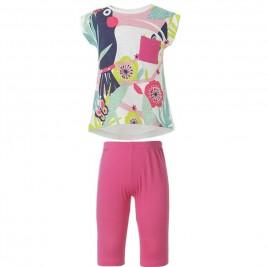 Παιδικό Σετ-Σύνολο Energiers 15-218382-0 Φούξια Κορίτσι