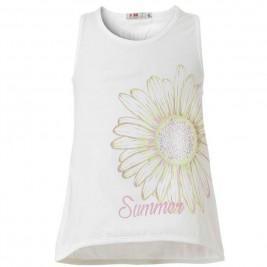 Παιδική Μπλούζα Energiers 15-218330-5 Λευκό Κορίτσι