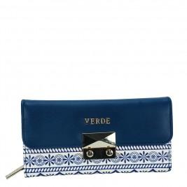 Γυναικείο Πορτοφόλι Verde 18-0000858 Μπεζ Μπλε