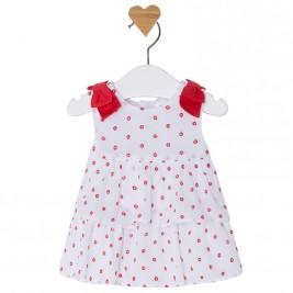 Βρεφικό Φόρεμα Mayoral 1850-041 Κοραλί Κορίτσι