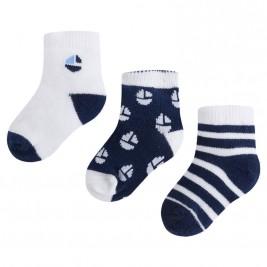 Βρεφικές Κάλτσες Σετ Mayoral 9723-060 Μπλε Αγόρι