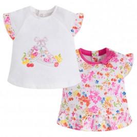 Βρεφικό Σετ Μπλούζες Mayoral 1006-064 Φούξια Κορίτσι