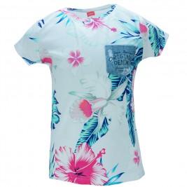 Παιδική Μπλούζα Joyce 8208 Λευκό Εμπριμέ Κορίτσι