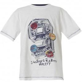 Παιδική Μπλούζα Energiers 13-218076-5 Λευκό Αγόρι