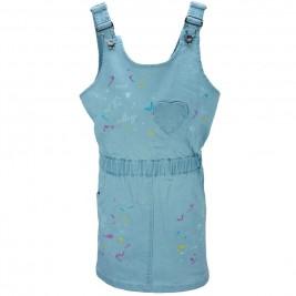 Παιδικό Φόρεμα NCollege 28-552 Μπλε Κορίτσι