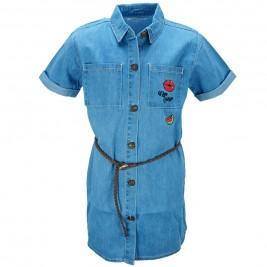 Παιδικό Πουκάμισο NCollege 28-6053 Μπλε Κορίτσι