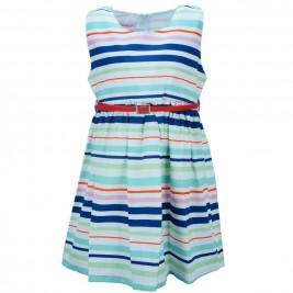 Παιδικό Φόρεμα NCollege 28-773 Ριγέ Κορίτσι