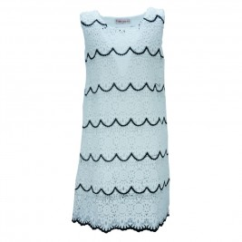 Παιδικό Φόρεμα Εβίτα 186001 Λευκό Κορίτσι