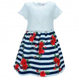 Παιδικό Φόρεμα Εβίτα 186027 Λευκό Κορίτσι