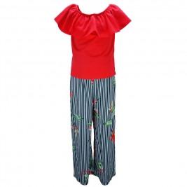 Παιδικό Σετ-Σύνολο Εβίτα 186160 Κόκκινο Κορίτσι