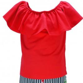 bb3dfcff5d6 ... Παιδικό Σετ-Σύνολο Εβίτα 186160 Κόκκινο Κορίτσι