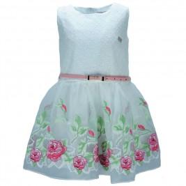 Παιδικό Φόρεμα Εβίτα 186232 Λευκό Κορίτσι