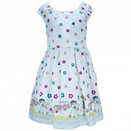 Παιδικό Φόρεμα M&B 8808 Εμπριμέ Κορίτσι