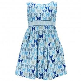 Παιδικό Φόρεμα M&B 8816 Εμπριμέ Κορίτσι