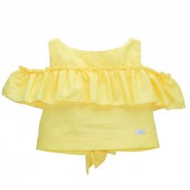 Παιδική Μπλούζα M&B 8952 Κίτρινο Κορίτσι