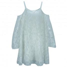 Παιδικό Φόρεμα M&B 8913 Εκρού Κορίτσι
