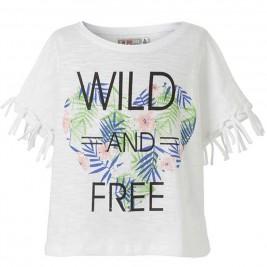 Παιδική Μπλουζα Energiers 16-218233-5 Λευκό Κορίτσι
