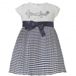 Βρεφικό Φόρεμα Boutique 44-218480-7 Λευκό Κορίτσι