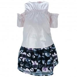 Παιδικό Σετ-Σύνολο Εβίτα 186022 Ροζ Εμπριμέ Κορίτσι