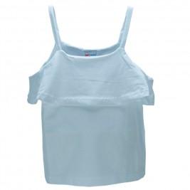 Παιδική Μπλούζα NCollege 28-9081 Λευκό Κορίτσι