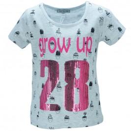 Παιδική Μπλούζα NCollege 28-9091 Μελανζέ Κορίτσι