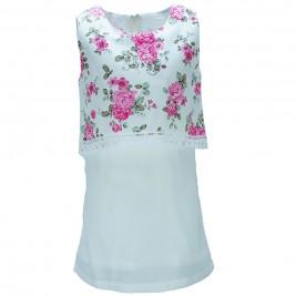 Παιδικό Φόρεμα NCollege 28-761 Εμπριμέ Κορίτσι