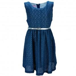 Παιδικό Φόρεμα NCollege 28-7064 Μπλε Κορίτσι