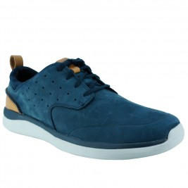 Ανδρικό Casual Clarks Garratt Lace Μπλε