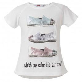 Παιδική Μπλουζα Energiers 16-218253-5 Λευκό Κορίτσι