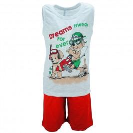 Παιδική Πυτζάμα Dreams 18109 Μελανζέ Αγόρι